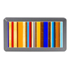 Colorful Stripes Memory Card Reader (mini) by FunnyCow