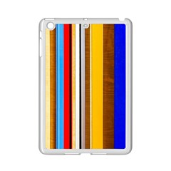 Colorful Stripes Ipad Mini 2 Enamel Coated Cases by FunnyCow