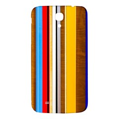 Colorful Stripes Samsung Galaxy Mega I9200 Hardshell Back Case by FunnyCow
