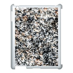 Granite Hard Rock Texture Apple Ipad 3/4 Case (white) by FunnyCow