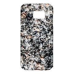 Granite Hard Rock Texture Samsung Galaxy S7 Edge Hardshell Case by FunnyCow