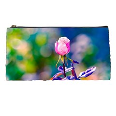 Pink Rose Flower Pencil Cases by FunnyCow