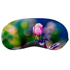 Pink Rose Flower Sleeping Masks by FunnyCow