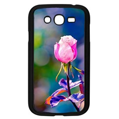 Pink Rose Flower Samsung Galaxy Grand Duos I9082 Case (black) by FunnyCow
