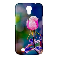 Pink Rose Flower Samsung Galaxy Mega 6 3  I9200 Hardshell Case by FunnyCow