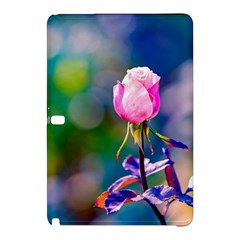 Pink Rose Flower Samsung Galaxy Tab Pro 10 1 Hardshell Case by FunnyCow