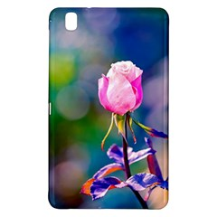 Pink Rose Flower Samsung Galaxy Tab Pro 8 4 Hardshell Case by FunnyCow