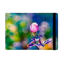 Pink Rose Flower Ipad Mini 2 Flip Cases by FunnyCow