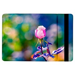 Pink Rose Flower Ipad Air Flip by FunnyCow