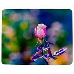 Pink Rose Flower Jigsaw Puzzle Photo Stand (rectangular) by FunnyCow