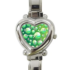 Background Colorful Abstract Circle Heart Italian Charm Watch by Nexatart