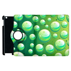Background Colorful Abstract Circle Apple Ipad 3/4 Flip 360 Case