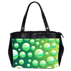 Background Colorful Abstract Circle Office Handbags (2 Sides)