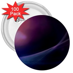Abstract Form Color Background 3  Buttons (100 Pack)