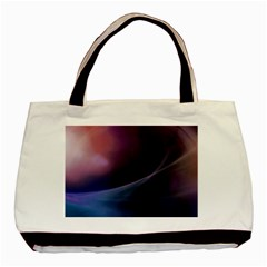 Abstract Form Color Background Basic Tote Bag