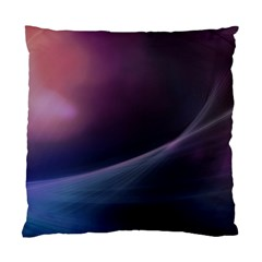 Abstract Form Color Background Standard Cushion Case (two Sides) by Nexatart