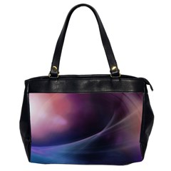 Abstract Form Color Background Office Handbags (2 Sides)