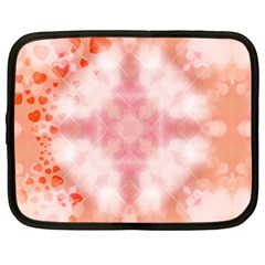 Heart Background Wallpaper Love Netbook Case (large)
