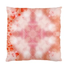 Heart Background Wallpaper Love Standard Cushion Case (two Sides)