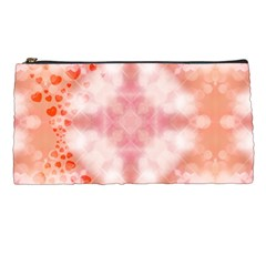 Heart Background Wallpaper Love Pencil Cases