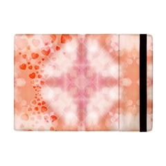 Heart Background Wallpaper Love Apple Ipad Mini Flip Case by Nexatart