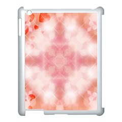 Heart Background Wallpaper Love Apple Ipad 3/4 Case (white)