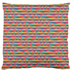 Background Abstract Colorful Large Cushion Case (one Side)