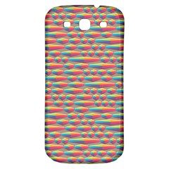 Background Abstract Colorful Samsung Galaxy S3 S Iii Classic Hardshell Back Case