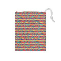Background Abstract Colorful Drawstring Pouches (medium)