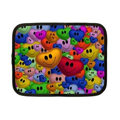 Heart Love Smile Smilie Netbook Case (small)