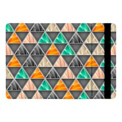 Abstract Geometric Triangle Shape Apple Ipad Pro 10 5   Flip Case