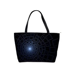 Pattern Abstract Fractal Art Shoulder Handbags