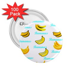Bananas 2 25  Buttons (100 Pack)  by cypryanus