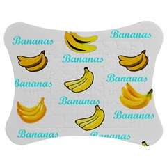 Bananas Jigsaw Puzzle Photo Stand (bow) by cypryanus