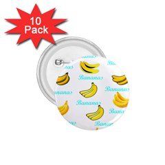 Bananas 1 75  Buttons (10 Pack) by cypryanus