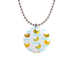 Bananas Button Necklaces by cypryanus