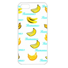 Bananas Apple Iphone 5 Seamless Case (white) by cypryanus