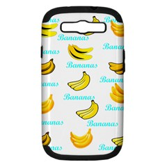 Bananas Samsung Galaxy S Iii Hardshell Case (pc+silicone) by cypryanus