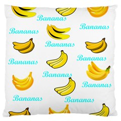 Bananas Standard Flano Cushion Case (one Side)