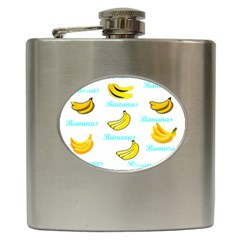 Bananas Hip Flask (6 Oz) by cypryanus