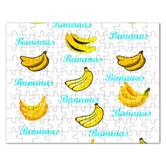 Bananas Rectangular Jigsaw Puzzl by cypryanus