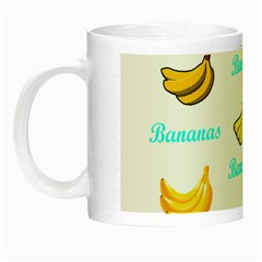 Bananas Night Luminous Mugs by cypryanus