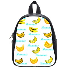 Bananas School Bag (small) by cypryanus