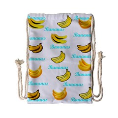 Bananas Drawstring Bag (small) by cypryanus