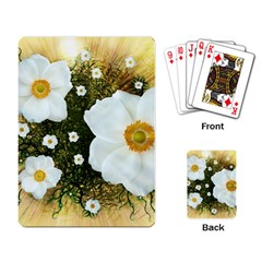 Summer Anemone Sylvestris Playing Card by Nexatart