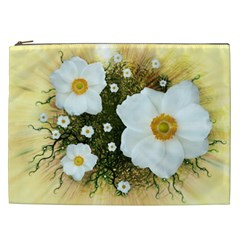 Summer Anemone Sylvestris Cosmetic Bag (xxl)