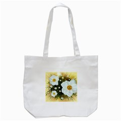 Summer Anemone Sylvestris Tote Bag (white) by Nexatart