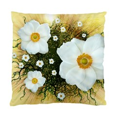 Summer Anemone Sylvestris Standard Cushion Case (one Side)