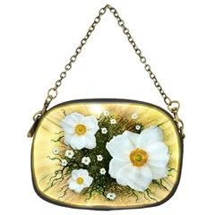 Summer Anemone Sylvestris Chain Purses (two Sides)  by Nexatart
