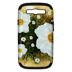 Summer Anemone Sylvestris Samsung Galaxy S Iii Hardshell Case (pc+silicone) by Nexatart